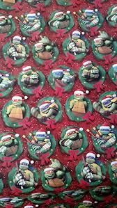 tmnt wrapping paper turtles wrapping paper tmnt christmas gift wrap