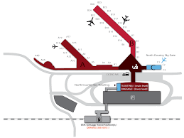 Dfw Terminal Map Chicago Midway Il Mdw U2013 Regional Sky