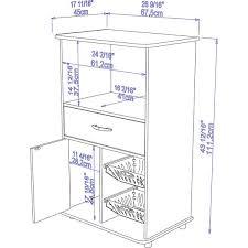 white kitchen storage cabinet shop for boahaus white mdf kitchen storage cabinet get