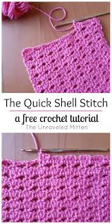 how to crochet the block stitch easy tutorial crochet stitch