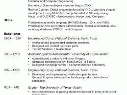 Breakupus Fascinating Online Technical Writing Resumes With Endearing Earlycareer Resume Use The Strategies Suggested Here To