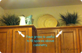 hickory wood espresso windham door greenery above kitchen cabinets