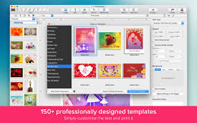 photo card maker greeting card maker design and print cards on the mac app store