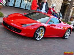 ferrari 458 back car picker red ferrari 458 italia
