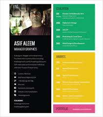 free graphic design resume templates best 25 cv template ideas on