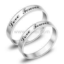 customized rings with names engraved forever promise rings for him and personalized