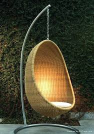suspended garden chair egg chair a must have for every outdoor