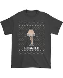 a christmas story leg l bargains on fragile leg l christmas story mens tshirt