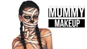 Halloween Mummy Makeup Ideas Mummy Halloween Makeup Tutorial Youtube