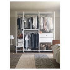 Ikea Closet Storage by Elvarli 3 Sections Ikea