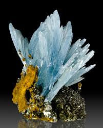 benitoite star of david blue barite from morocco other minerals pinterest morocco