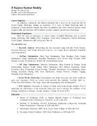 digital marketing resume lovely digital media resume objective on marketing profile resume
