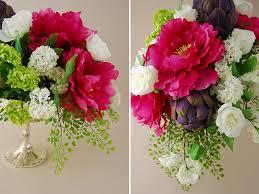 Faux Flower Arrangements Flower Arranging Basic Flower Arrangements