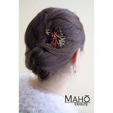 japanese hair pin hair accessory ornamental kanzashi hairpin glamurous cherry