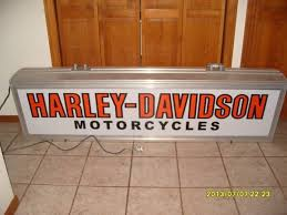 Harley Davidson Decor Santa Clarita Shadow Box Lighted Harley Davidson Motorcycles Sign