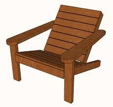 free diy square adirondack chair plans a modern design famous
