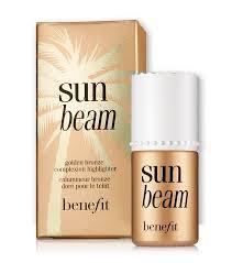 sun beam golden bronze highlighter benefit cosmetics