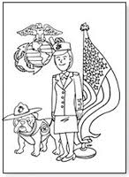 marine bulldog coloring page pictures to pin on pinterest pinsdaddy