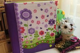 como forrar un cuaderno con tela youtube carpeta decorada fácil regreso a clases youtube
