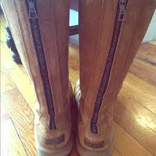 zipper ugg boots sale 65 ugg boots authentic ugg chestnut zipper boots