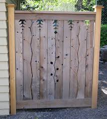 best 25 decorative fence panels ideas on timber fence