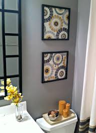 10 diy projects to spruce up your space framed fabric and guest bath