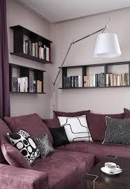 wohnzimmer streichen ideen ideen fürs wohnzimmer streichen flieder wandfarbe polster ecksofa