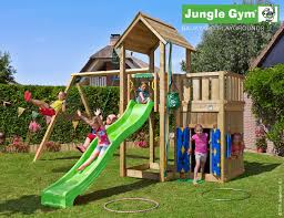 Double Swing Mansion Climbing Frame With Playhouse Module U0026 Double Swing Play