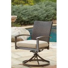 Swivel Patio Dining Chairs Hanson Swivel Patio Dining Chair With Cushion U0026 Reviews Birch Lane