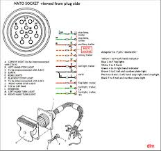 7 pin trailer light wiring diagram 7 pin trailer pigtail wiring