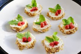 goats cheese canape recipes goat s cheese canapé recipe great chefs