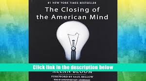audiobook the closing of the american mind allan bloom favorite
