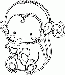 year of the monkey coloring page coloring home