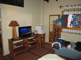 2 Bunk Beds Room With 2 Bunk Beds Tv Mini Fridge Picture Of Hotel Santa