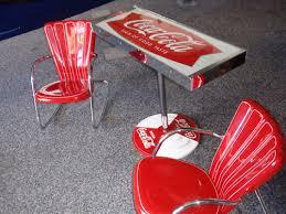 coca cola table and chairs vintage coca cola table and chairs ebay coca cola collectibles