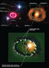 scientists examine remnant of supernova sn 1987a astronomy sci