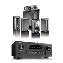 home theater speakers denon avr s920w b stock receiver w definitive technology