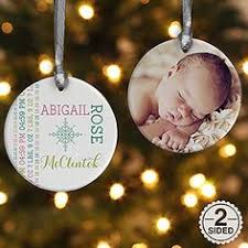 personalized baby ornament by kreationsbycourtney