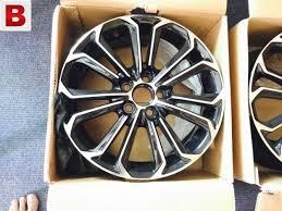 toyota corolla 15 inch rims corolla 2015 alloy rims original brand size 16 5inch rawalpindi