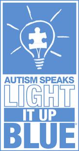autism speaks light it up blue file autism speaks logo light it up blue stacked svg logopedia