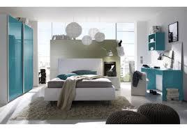 Schlafzimmer Komplett 140 Cm Bett Jugendzimmer Mit Bett 140 X 200 Cm Weiss Türkis Woody 12 00607