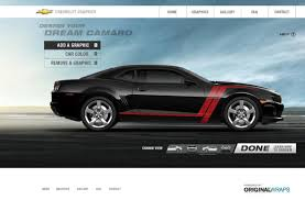 2011 camaro graphics official chevrolet build your own racing stripes and graphics site