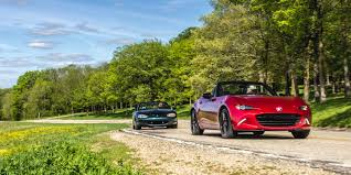 majda car driving the 2016 mazda mx 5 miata and its ancestors
