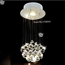 Crystal Bar Chandelier Aliexpress Com Buy Modern Crystal Chandelier Penthouse Stair