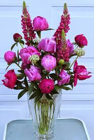 Peony Floral Arrangement by Floral Arrangements 2014 Using Peonies Roses And Lilies Sowing