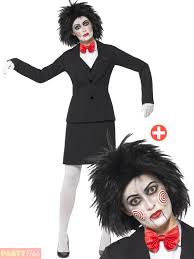 Halloween Costume For Women Ladies Saw Costume Halloween Jigsaw Fancy Dress Womens
