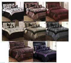 Machine Washable Comforters 7 Pc Refael Luxurious Bedding Sheet U0026 Comforter Set Only 54 99