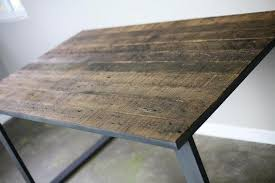 buy reclaimed wood table top reclaimed wood desk top interiors and decor