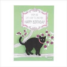invitations cat birthday cards