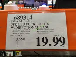 duracell led puck lights costco 689314 duracell 5pk led puck lights tag costcochaser